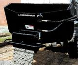 Terex Loegering concrete hauler skid steer attachment