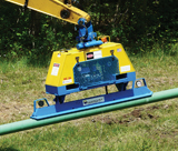 Vacuworx MC3 mini vacuum lifter attachment for skid steer loaders