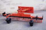 York Modern Model SSF landscape rake attachment for skid steer loader