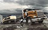 International severe-service Paystar Class 8 truck