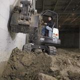 Bobcat's M-Series mini excavators