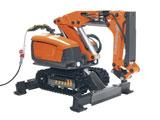 Husqvarna DXR 250 demolition robot