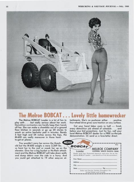 1969 Bobcat Ad