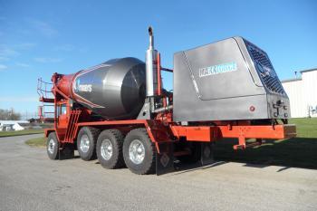 Navistar Power On A Phoenix Chassis Construction Equipment