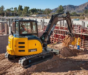 Deere 50g 60g Excavators To T4 F Construction Equipment