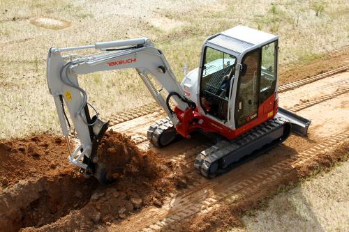 Takeuchi Tb216 Tb240 Tb260 Tb290 Compact Excavators
