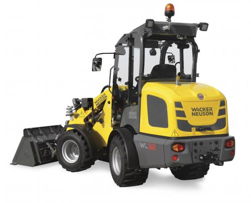 wacker neuson articulated wheel loaders construction. Black Bedroom Furniture Sets. Home Design Ideas