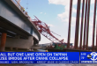 Crawler Crane Topples onto Tappan Zee Bridge