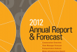 2012 Annual Report and Forecast