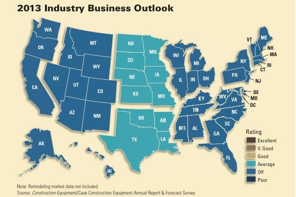 The nation expects business to be a level better in 2013.
